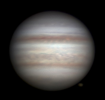 Jupiter on June 20, 2012