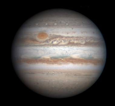 Jupiter on Nov. 24, 2013