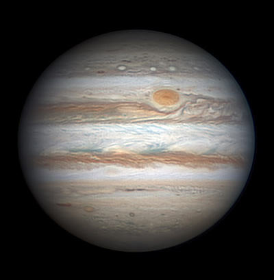 Jupiter on Dec. 3, 2013