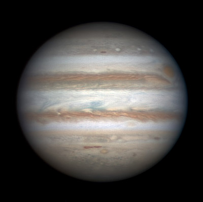 Jupiter on Dec. 20, 2013.