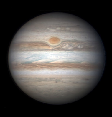 Jupiter on April 1, 2014