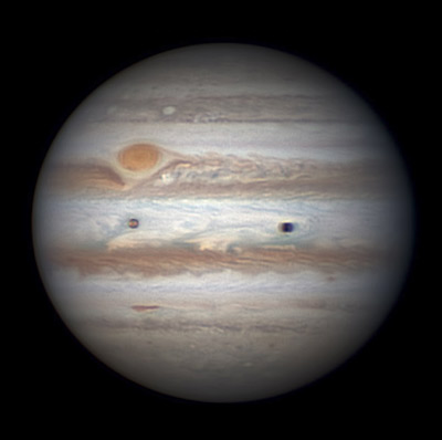 Jupiter on April 1, 2015
