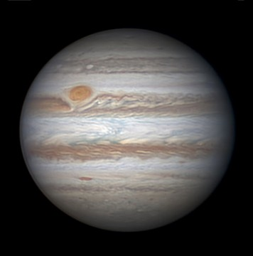 Jupiter on April 6, 2015, by Christopher Go