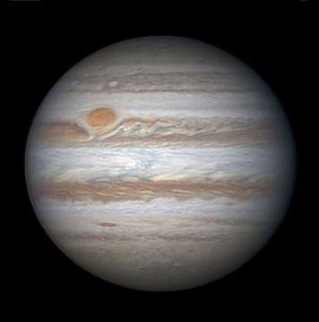 Jupiter on April 6, 2015, by Christopher Go