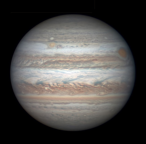 Jupiter on April 29, 2017