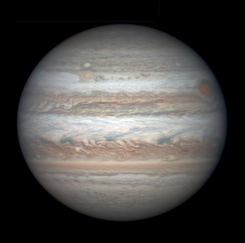 Jupiter on April 29, 2017