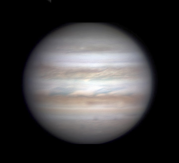 Jupiter on Dec. 24, 2017