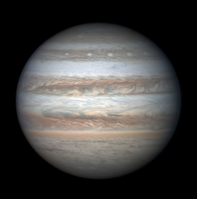 Jupiter on June 1, 2017