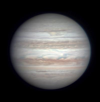 Jupiter on Jan. 3, 2018