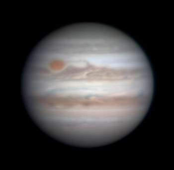 Jupiter on Jan. 7, 2018