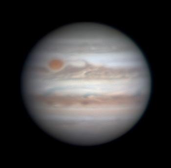 Jupiter on Jan. 7, 2018