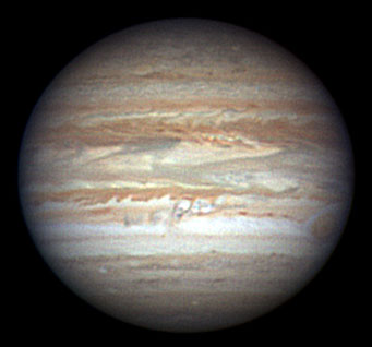 Jupiter outbreak, June 1, 2007