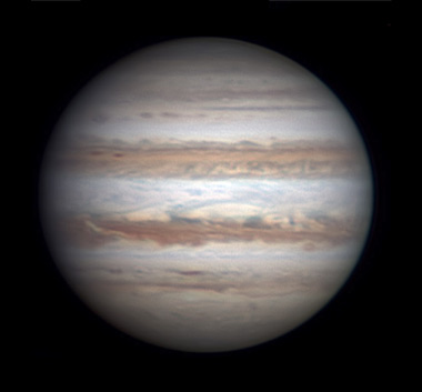 Jupiter on Nov. 14, 2015