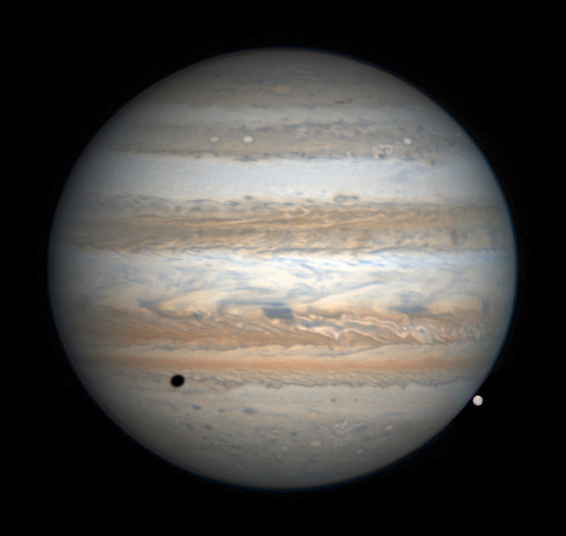 Jupiter on Feb. 19, 2017