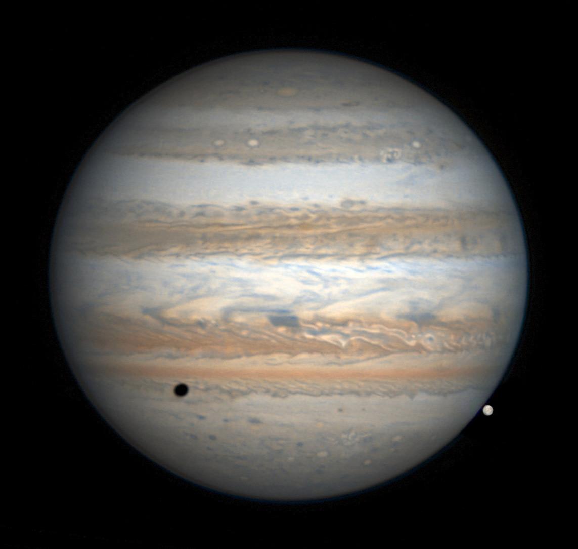 Jupiter on Feb. 19, 2017