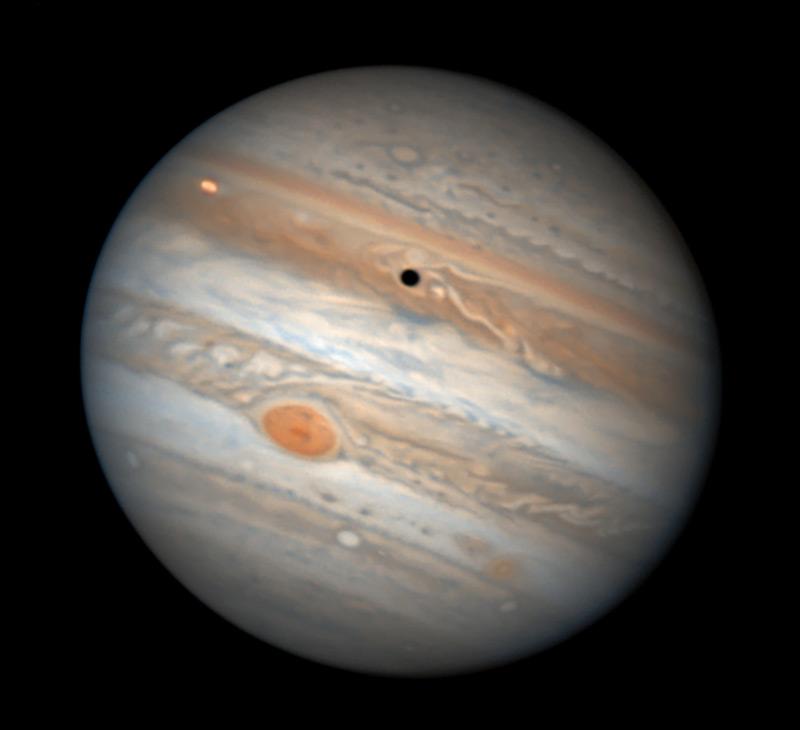 Jupiter on Feb. 23, 2017