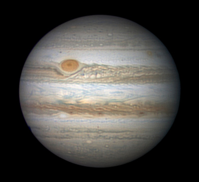 Jupiter on June 10, 2016