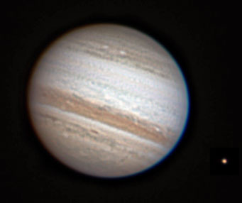Jupiter on July 31, 2010