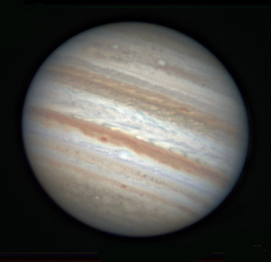 Jupiter on Nov. 1, 2011
