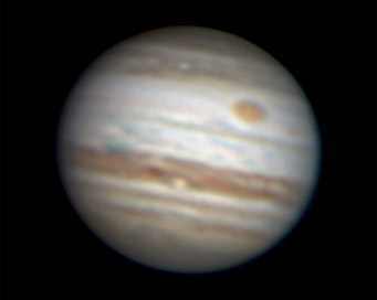 One-belted Jupiter on April 12, 2010