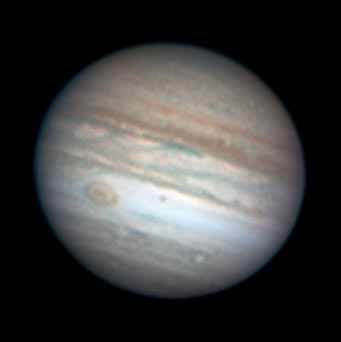 Jupiter on the night of June 14–15, 2007
