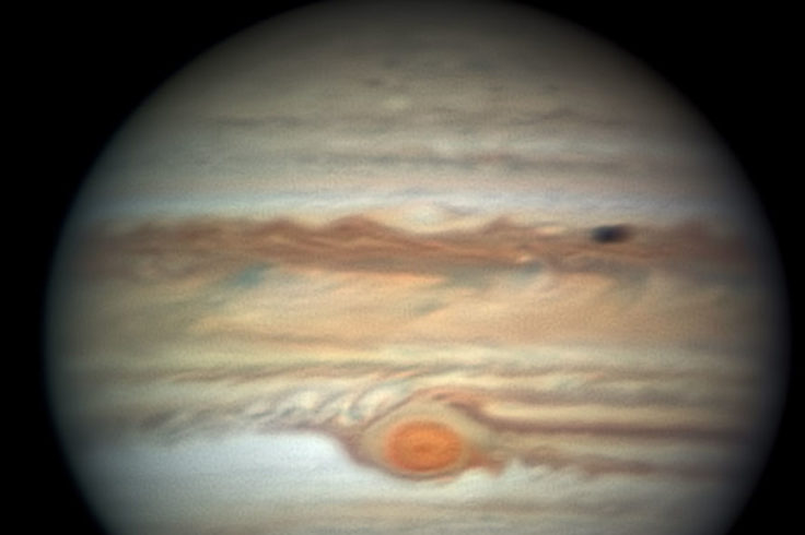 Flakey Red Spot