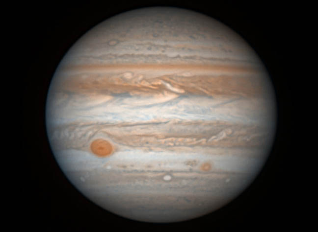 Real Pictures Of Jupiter The Planet Jupiter Close, Bright,...