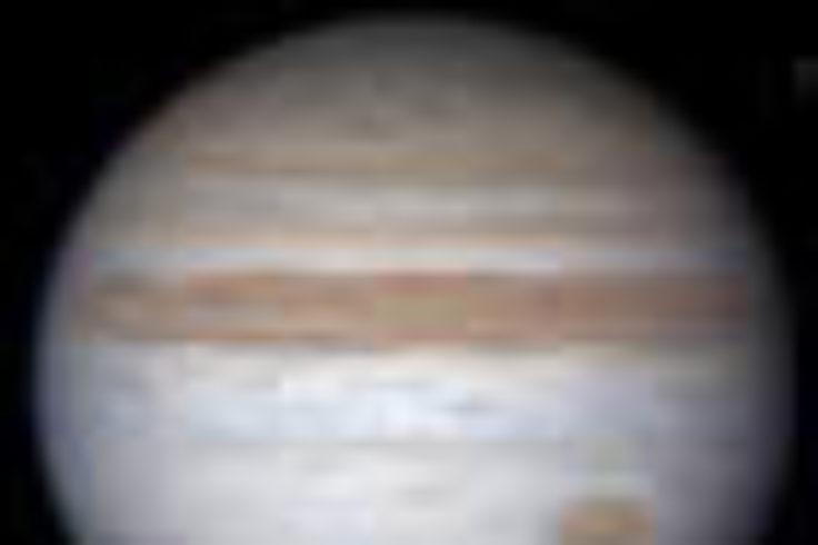 Jupiter's appearance in 2010