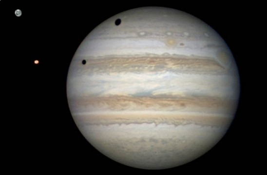 "Jupiter With Two ""Black Eyes"""