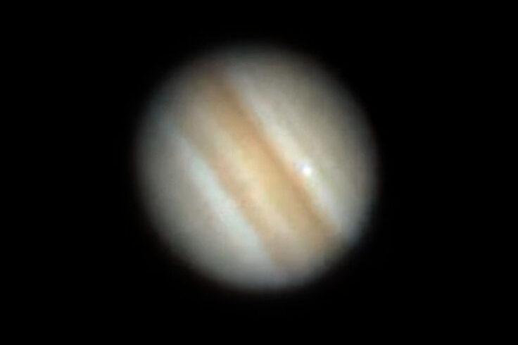 Jupiter impact flash Oct. 15, 2021