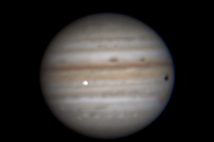 Possible Jovian impact flash