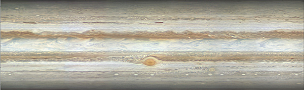 Jupiter map by Peach, March 2015