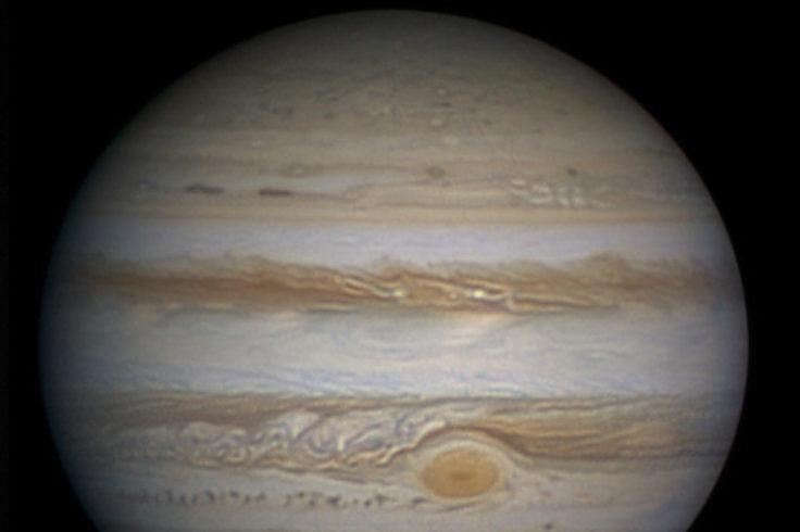 Jupiter's appearance in February 2014