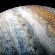Jupiter, color-enhanced