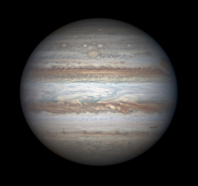 Jupiter on February 18th, by <a href=