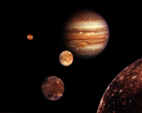 Jupiter family portrait