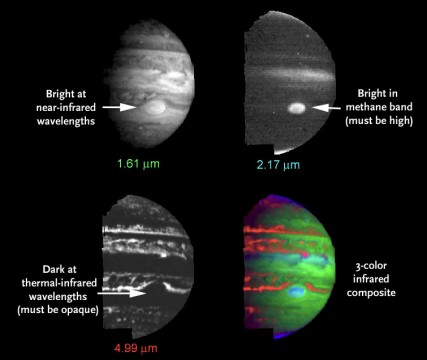 Cassini's infrared view of Jupiter