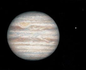 Painting of Jupiter