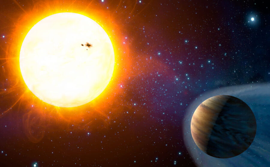 Hot Jupiter KPS-1b