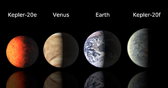 Earth-size planets compared