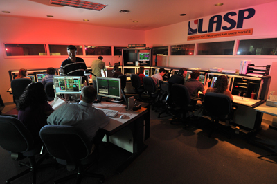 Kepler control center at LASP