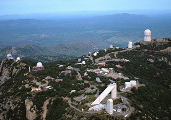 Observatories on Kitt Peak