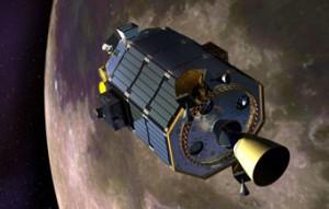 LADEE in lunar orbit