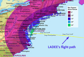 Where to see LADEE's launch