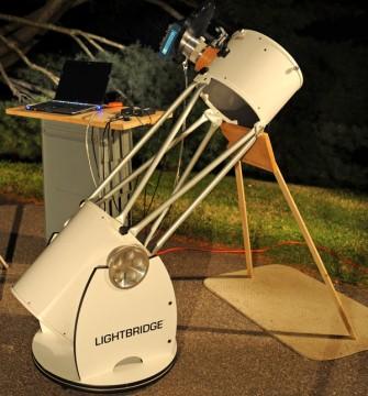 Lightbridge test set-up