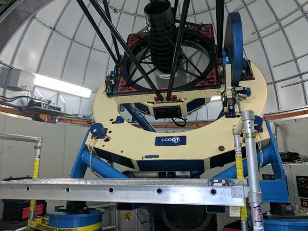 Las Cumbres Observatory telescope