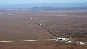 Aerial view of LIGO Hansford