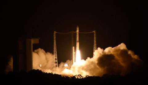 LISA Pathfinder launch