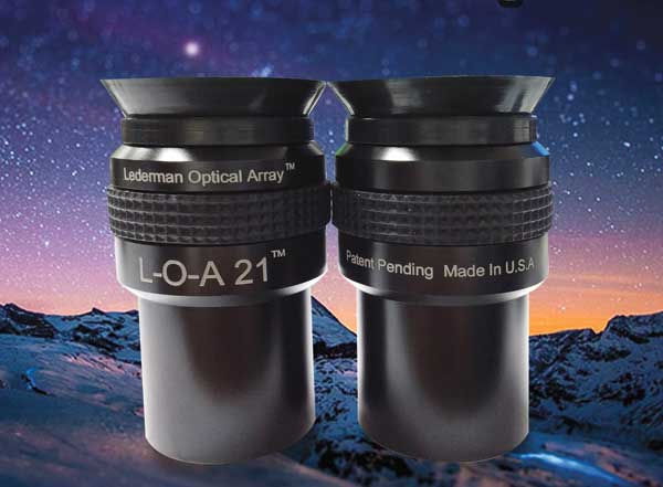 Denkmeier's Lederman-Optical-Array (L-O-A) Eyepieces