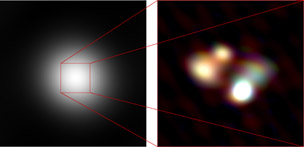 LOFAR view of quasar 3C 196